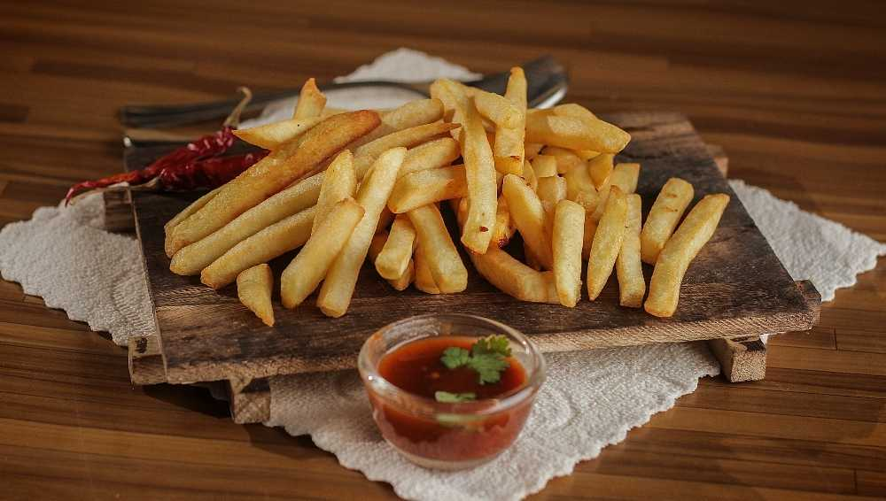 How to Serve Fries