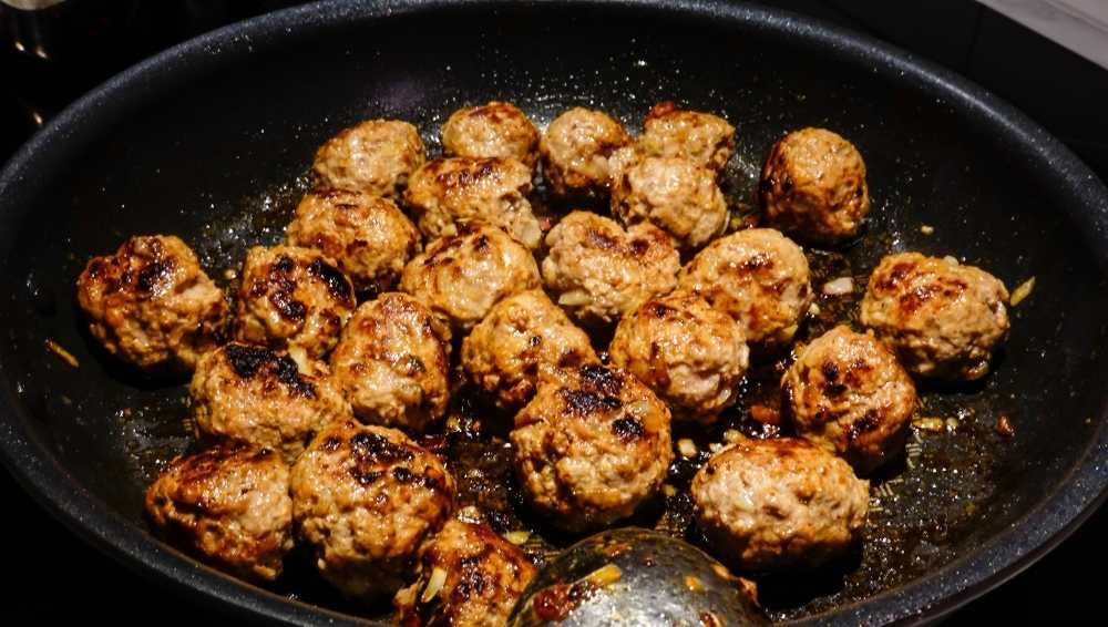 Add the Meatballs and Mix Well